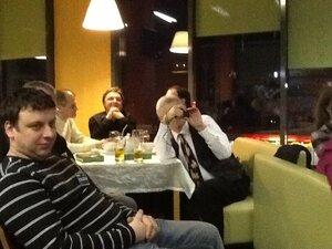 "Встреча «Самарский блогер 2011» и ""Мёд"". Я изображаю папараци. Фото Дмитрия Котукова - симпле кот"