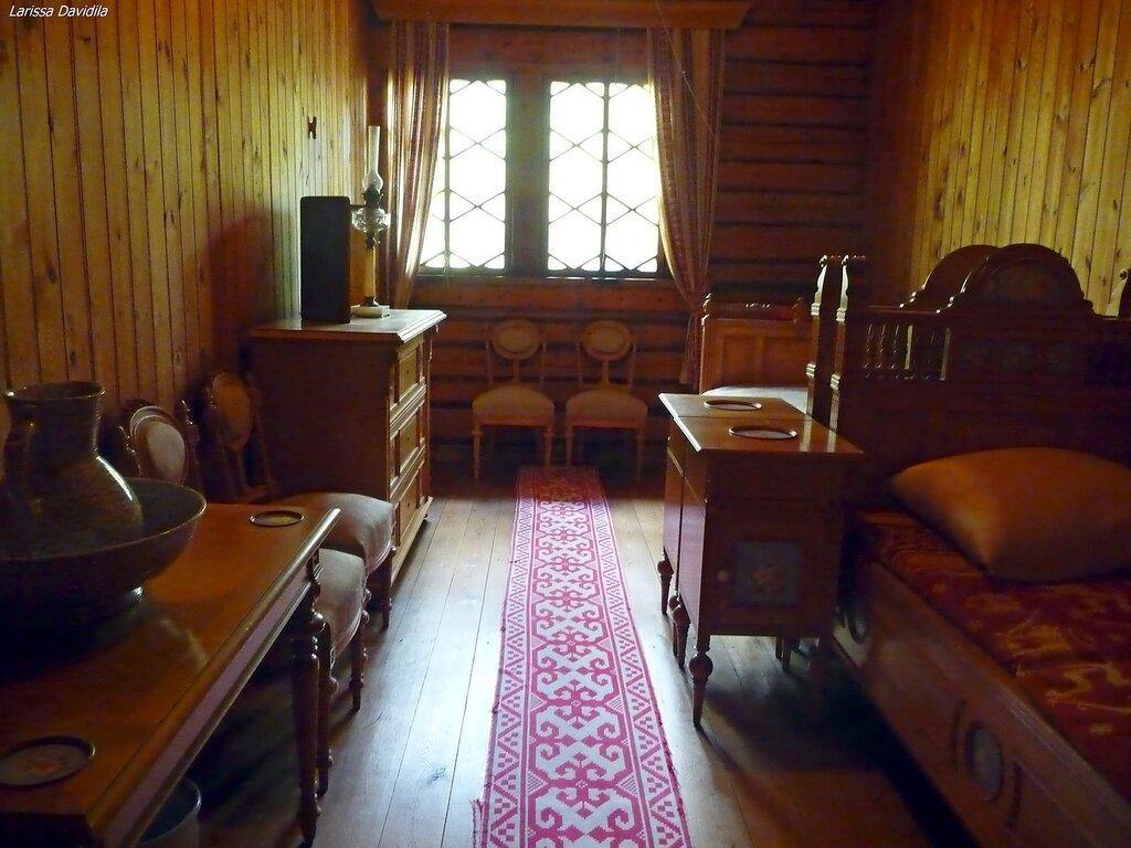 Спальня Императора и Императрицы.