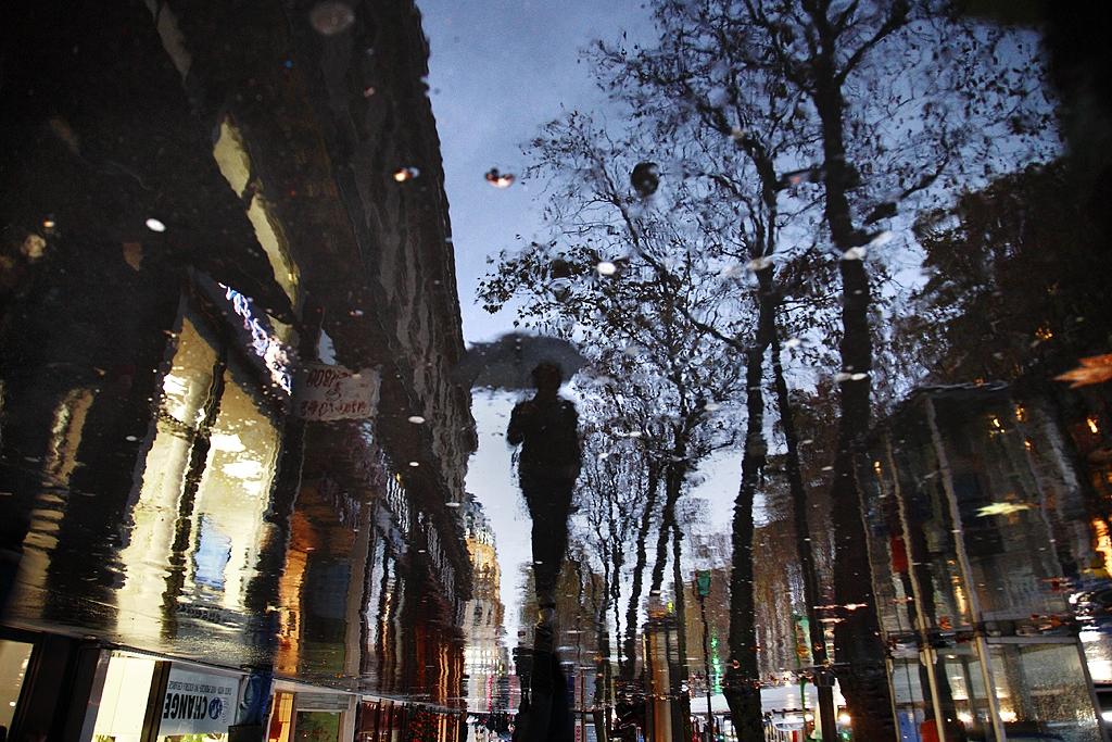 Шум дождя.Фотограф Кристофер  Жакро (Christophe Jacrot)