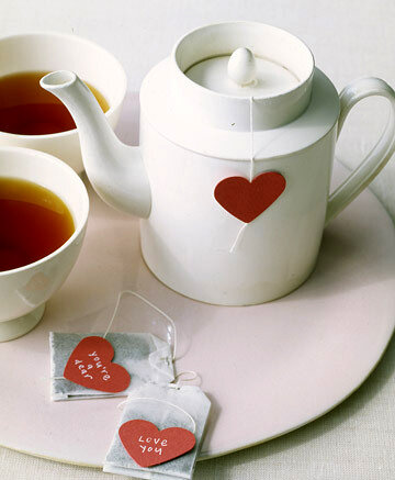 Сердечки к чаю