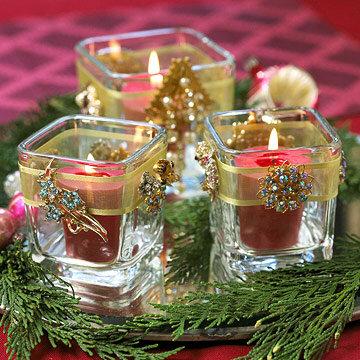 Декорирование свечей