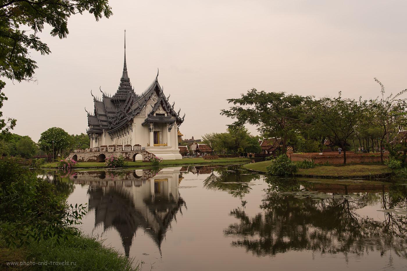 Фото 19. В парке Муанг Боран (Mueang Boran, Ancient City) мы тоже брали напрокат велосипеды и катались целый день. Отдых в Таиланде самостоятельно