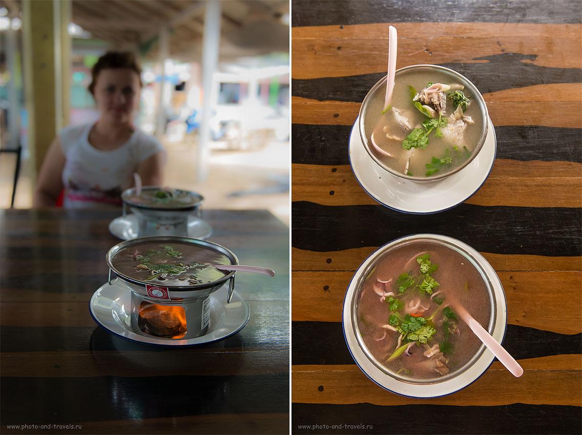 Снимок 10. Рыбный суп. Отчеты об отдыхе в Таиланде