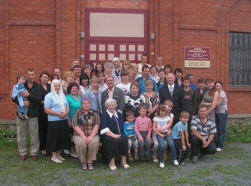 церковь и гости