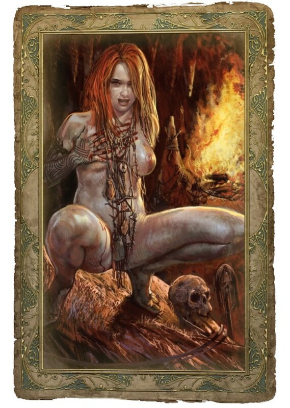 Ведьмак - Все секс-карточки (+ бонус!) . Update 1 - добавлены имена. Сего