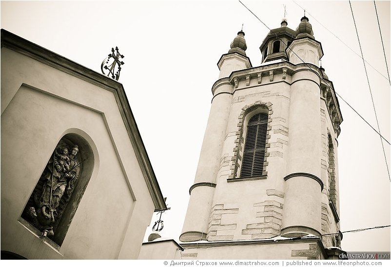 Пейзажи Львова. Фотограф Дмитрий Страхов