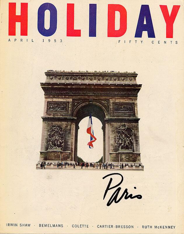 Holiday Magazine.Paris, April 1953