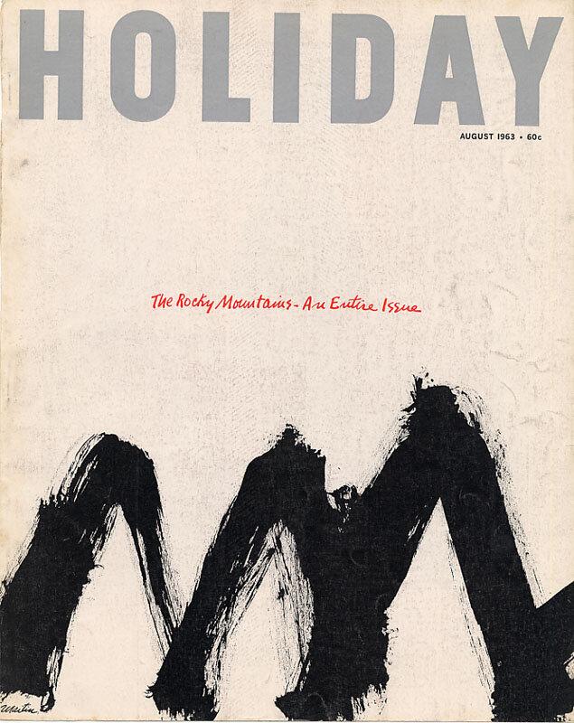 Holiday Magazine covers