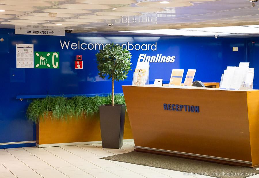 Путешествие в Германию с Finnlines