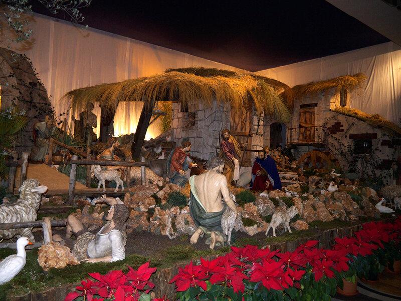 В соборе св. Петра, Рождественский вертеп