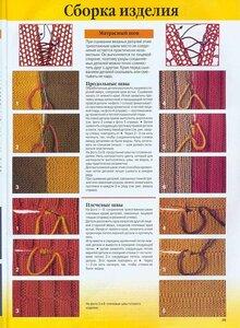 Сборка вязанных изделий