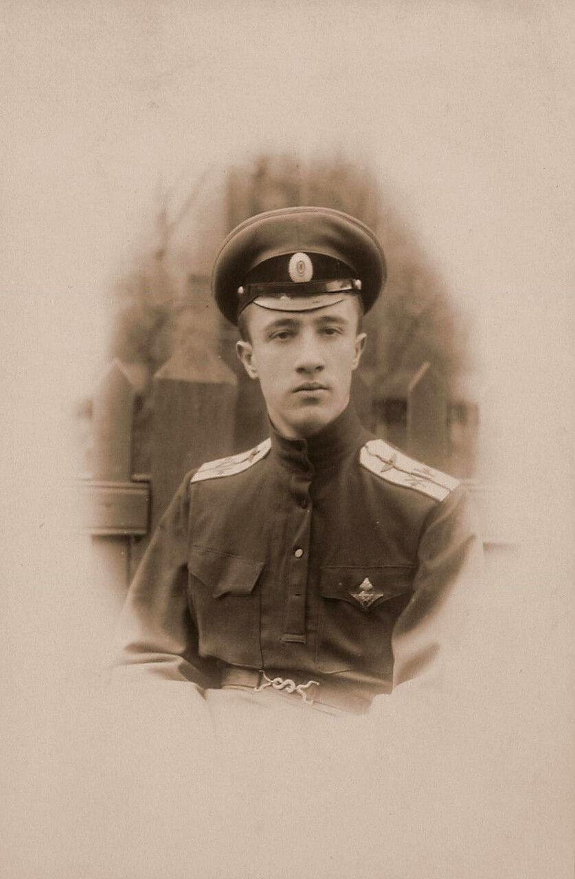24. Наблюдатель подпоручик Павловский. 1915 Волынская губ., район г. Ровно