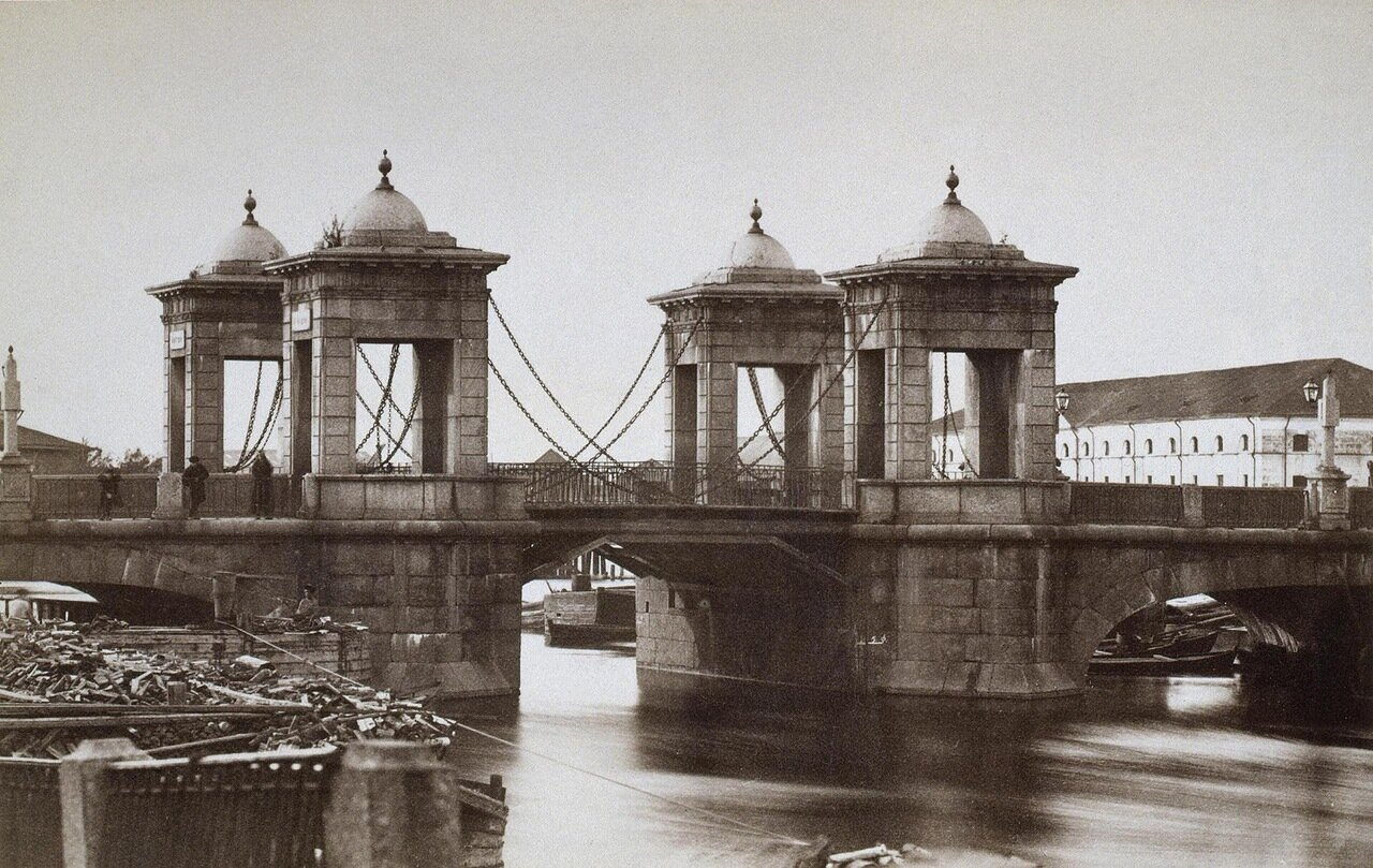 Калинкин мост через Фонтанку
