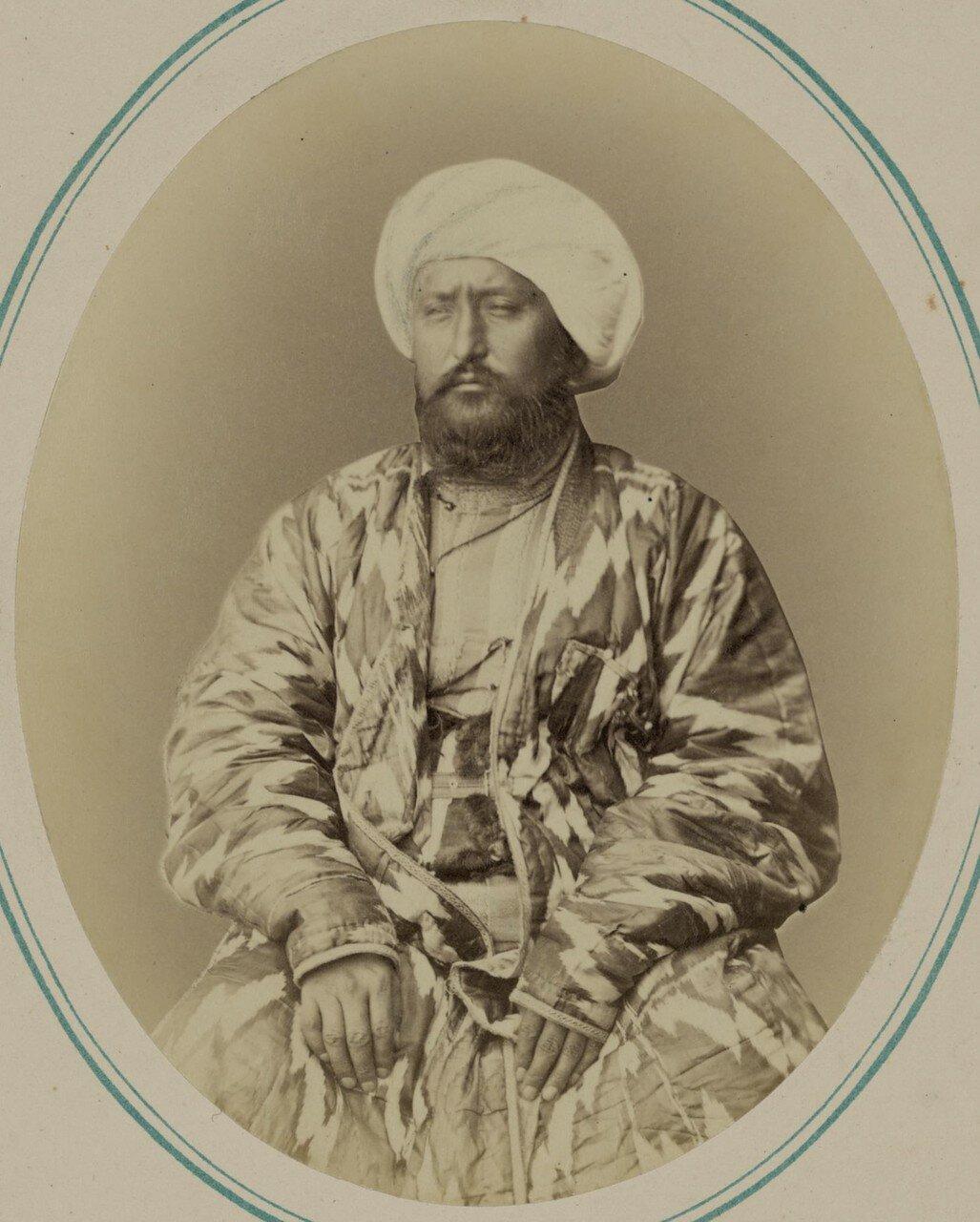 Кокандский хан и его сыновья. Сеид Мухамед Насреддин-бек (старший сын кокандского хана)
