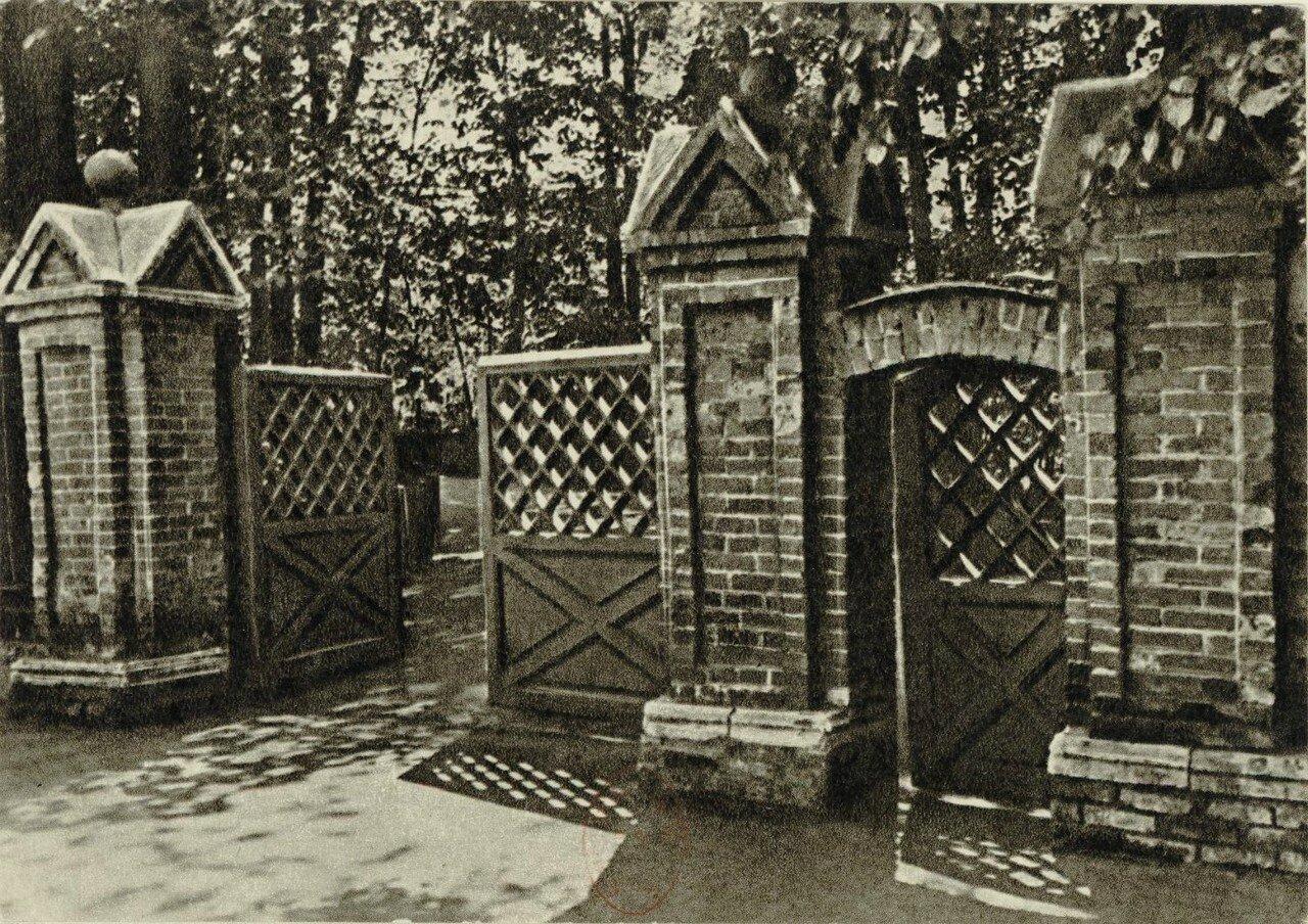 Дом-музей П.И.Чайковского. Ворота