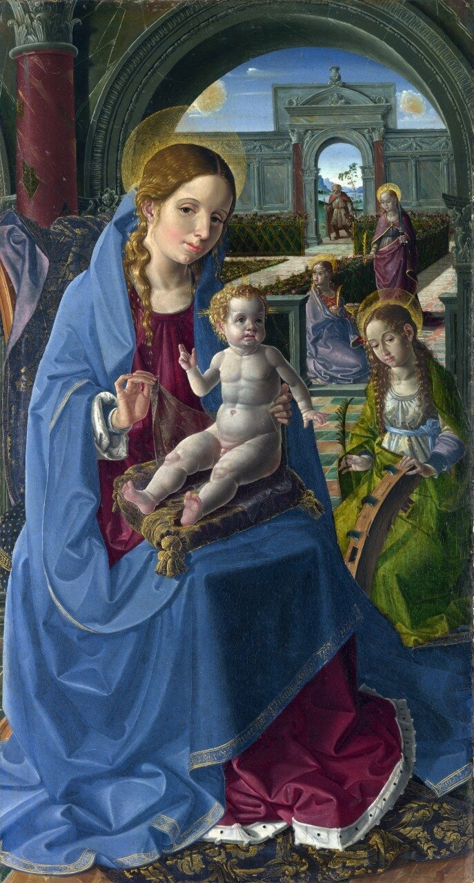 The Virgin and Child with Saints