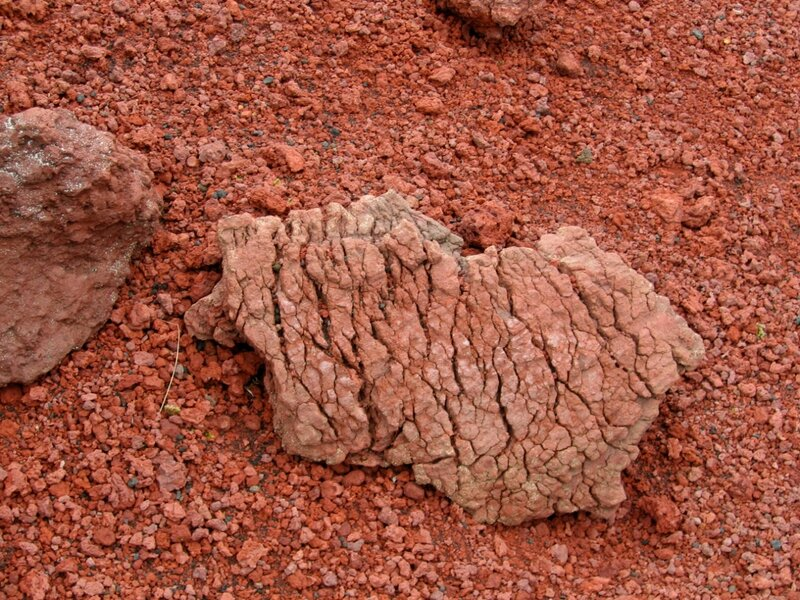 Продукт извержения вулкана, Толбачик, Камчатка
