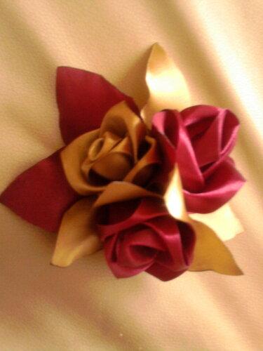 Такие цветы получились у меня
