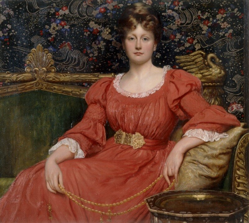 'Mrs Luke Ionides' William Blake Richmond