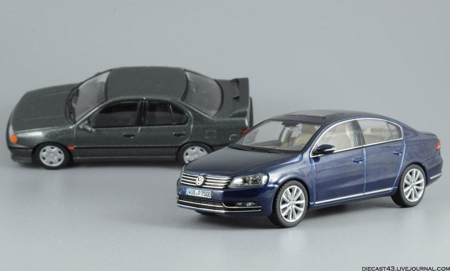Volkswagen Passat B7 Schuco Night Blue