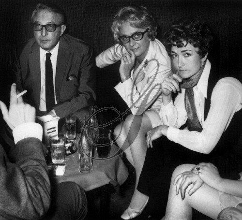 Мишель эмер с женой и дочерью 1969 год