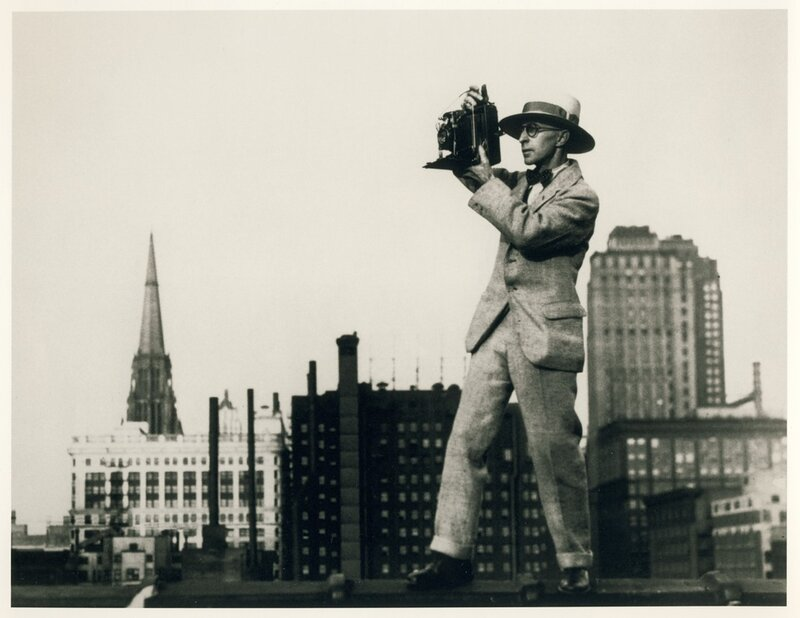 James Abbe in Chicago, 1928