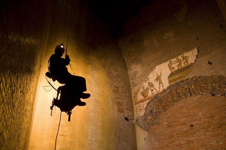 Фотоарт от спелеолога Стивена Альвареза / Stephen Alvarez - для National Geographic