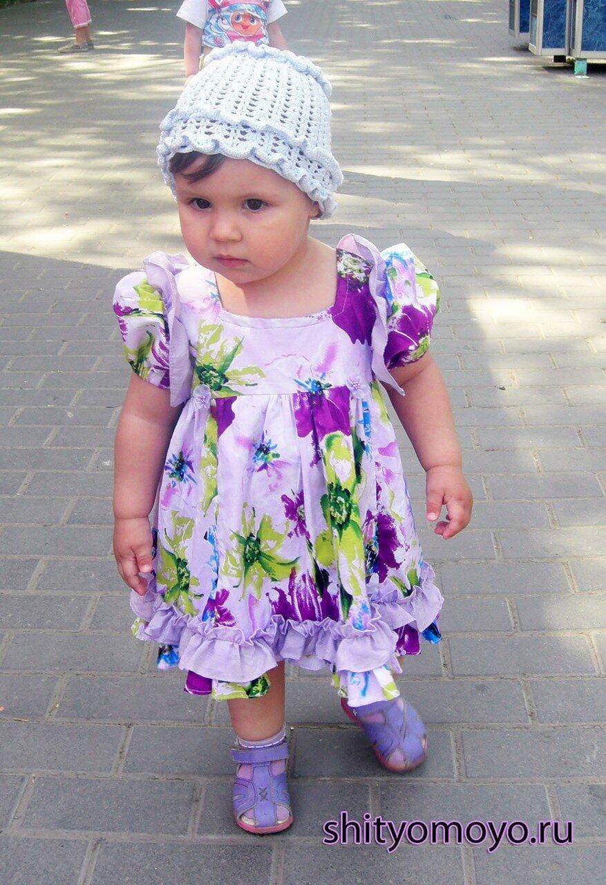 Как сшить летнее платье с фонариком