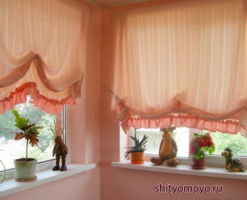 Выбираем красивые шторы на балкон: 3 популярные идеи