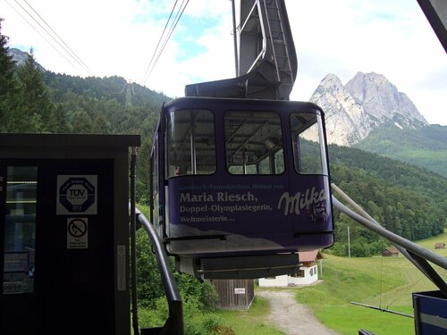 """Milka"" приглашает на Alpspitzbahn"