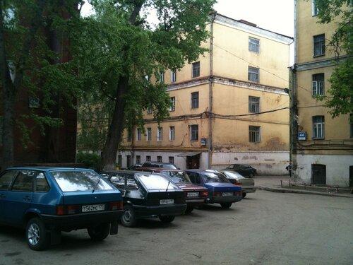 Именно так я представлял себе спальные районы города Иваново, но это в Москве, в 1,5 км от Ленинградки