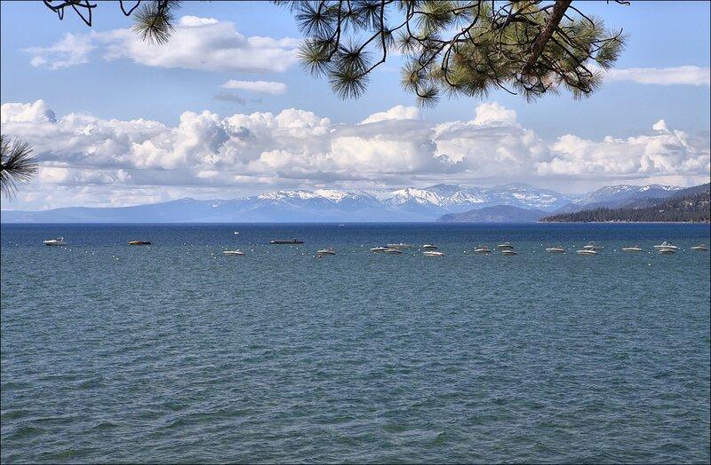 Лодки озера Тахо