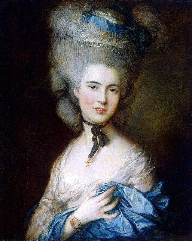 портрет рококо