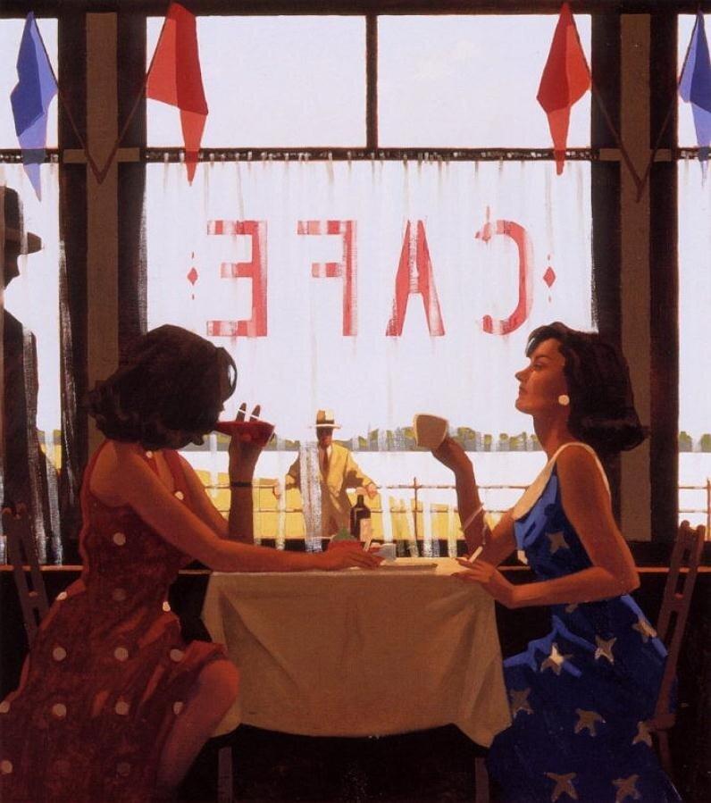 CafeDays, by Jack Vettriano