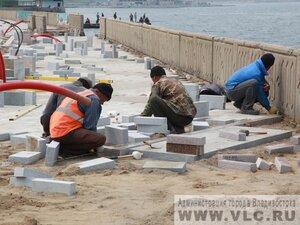 На Спортивной набережной Владивостока завершены все строительные работы