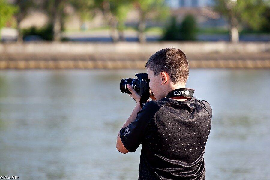 мастер фото фотокамера фотограф мальчик ребенок