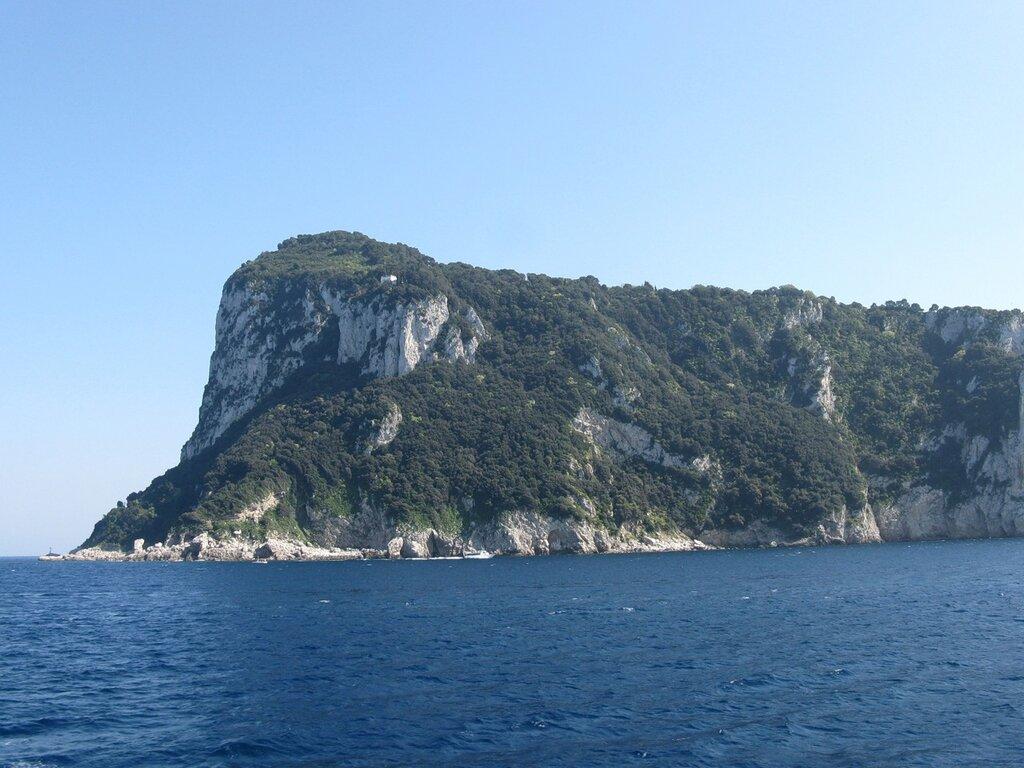Остров Капри. Мыс Тиберио