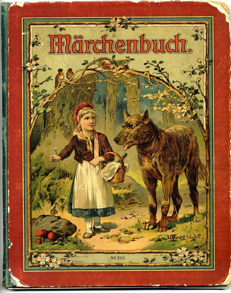 Märchenbuch - German language book of children's fairy tales 1919