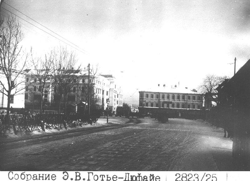 Виды старой Москвы. Хамовники, 1913 год...