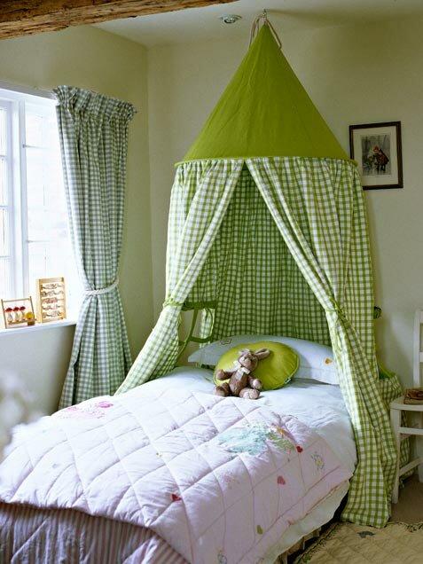 Балдахин над детской кроватью