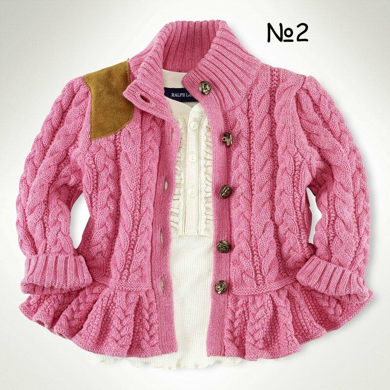 Баска вязание