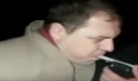 Высокопоставленный сотрудник МВД за рулём в пьяном виде