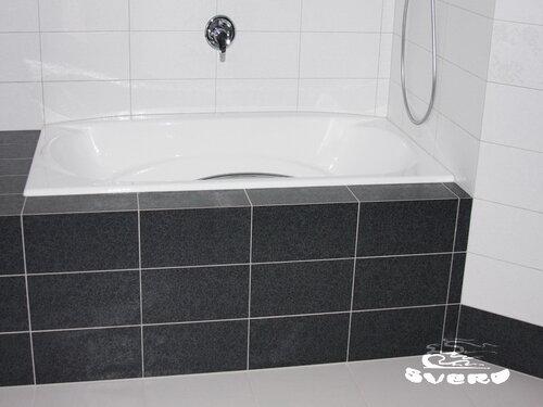полы в ванне фото