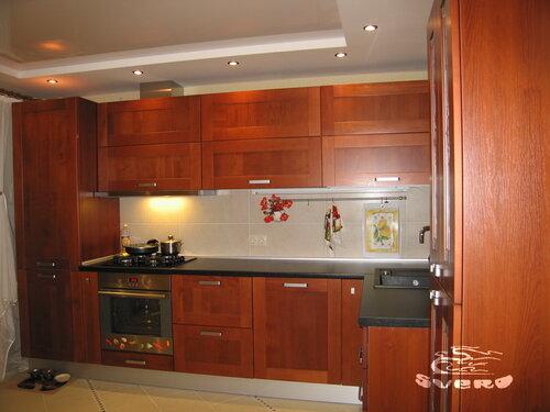 кухонная и столовая зоны