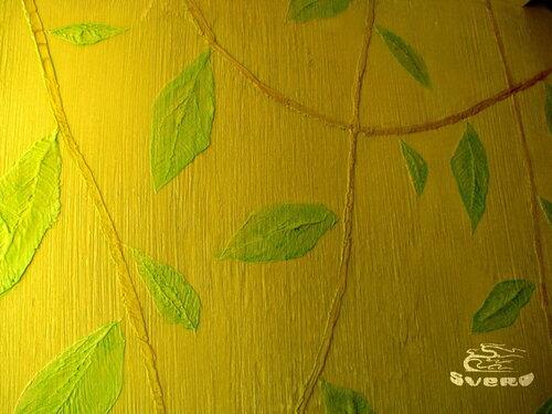 роспись, стена