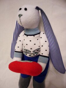 Одежда для игрушки из носка
