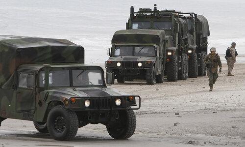 """США проводят учения """"Bold Alligator 2012"""" у своего восточного побережья"""