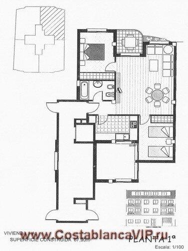 апартаменты в Daimuz, апартаменты в Даймусе, апартаменты в Испании, квартира в Испании, недвижимость в Испании, апартаменты на пляже, CostablancaVIP, Коста Бланка