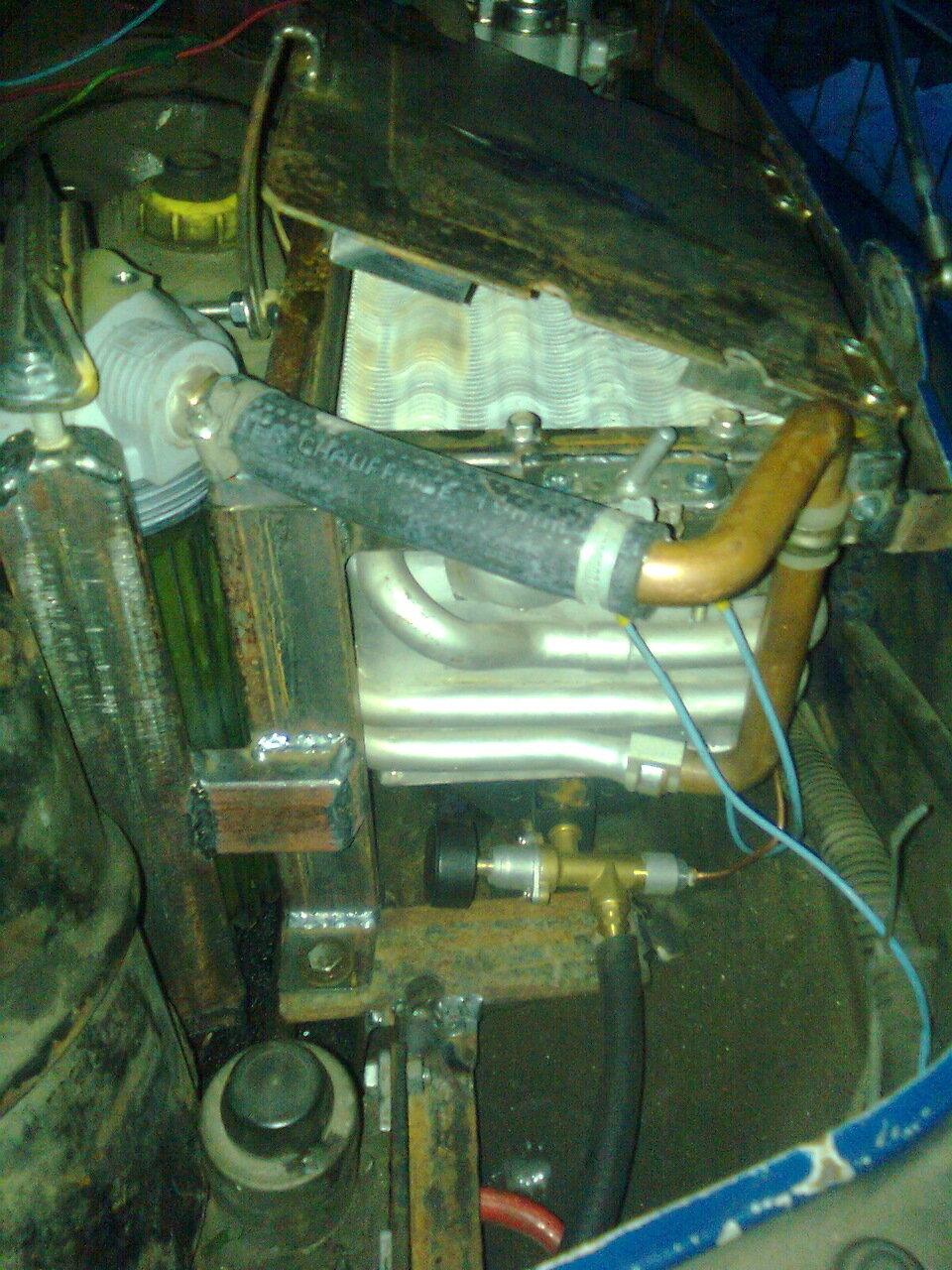 Предпусковой подогреватель двигателя на газу своими руками