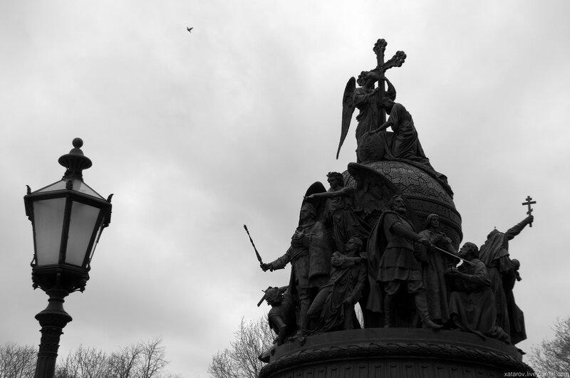 """Памятник """"Тысячелетие России"""" в Великом Новгороде"""
